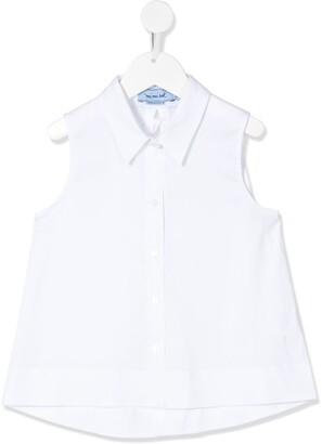 Mi Mi Sol Sleeveless Poplin Shirt