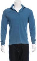 Michael Bastian Long Sleeve Polo Shirt
