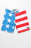 "ambsn Home Stars & Stripes 18"" Boardshorts"