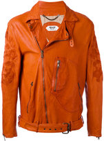 Pihakapi - biker jacket - men - Lamb Skin/Viscose - M