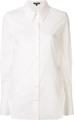 Ann Demeulemeester Plain Fitted Shirt