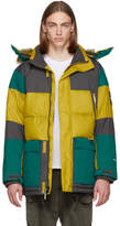 The North Face Yellow and Green Down Vostok Parka