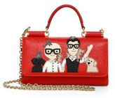 Dolce & Gabbana Family Leather Phone Bag