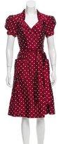 Diane von Furstenberg Betty Silk Wrap Dress