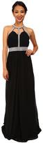 Faviana Chiffon High Neck Strap Dress 7514