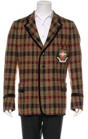 Gucci Wool Collegiate Loved Blazer w/ Tags