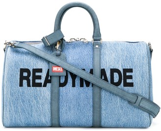 Diesel Red Tag Readymade holdall