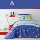 Aqua Ardor For Kids Moon & Back Quilt Cover Set