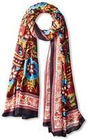 Theodora & Callum Women's Bozeman Wearable Art Blanket Scarf