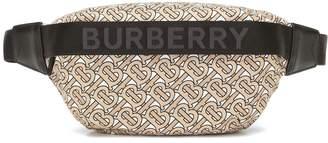 Burberry LL Sonny printed nylon belt bag