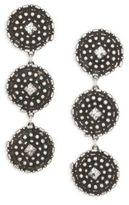 Dannijo Rossi Crystal Drop Earrings