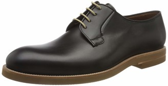 Lottusse Men's T2464 Brogues Black (Duck Negro Duca Negro) 44 EU