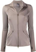 adidas by Stella McCartney zipped-up sweat jacket
