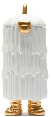 L'OBJET Lobjet - X Haas Brothers Djuna Porcelain Tea Pot - White