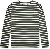 Margaret Howell - Mhl Striped Cotton-jersey T-shirt