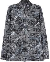 Versace Astronomy-print Silk Twill Shirt