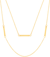 Bliss Gold Bar Layered Necklace