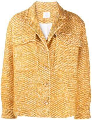 Anine Bing Oversized Chunky Knit Jacket