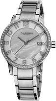 Akribos XXIV Women's AK567SS Impeccable Slim Swiss Quartz Stainless Steel Bracelet Watch