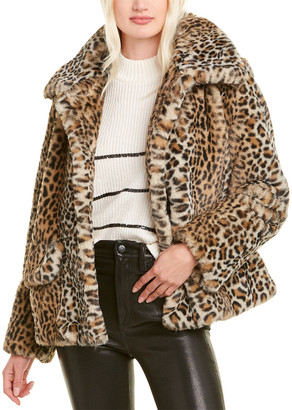 The Kooples Leopard Jacket