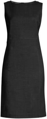 Lafayette 148 New York Brett Stretch Virgin-Wool Sheath Dress