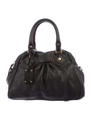 Marc by Marc Jacobs Leather Satchel Brown