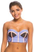 Maaji Lavender Timbers Bustier Bikini Top 8138358
