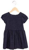 Jacadi Girls' Polka Dot A-Line Dress