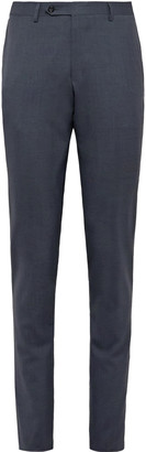 Canali Kei Slim-Fit Wool Suit Trousers