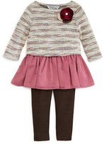 Pippa & Julie Infant Girls' Striped Sweater, Tank & Leggings Set - Sizes 12-24 Months