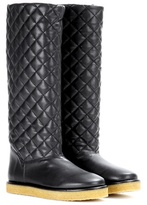 Stella McCartney Brompton faux-leather boots