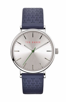 Ted Baker Men's MIMOSAA Quartz Watch with Stainless Steel Strap