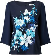 Jacques Vert Hampton Floral Layer Top