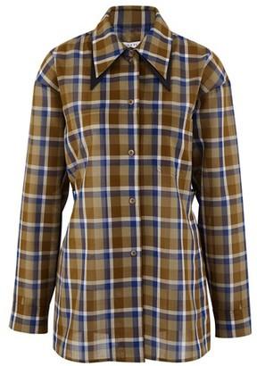 REJINA PYO Rory wool mix shirt