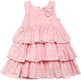 MonnaLisa Eyelet Lace Dress