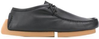 Bottega Veneta Lace-Up Driver Shoes
