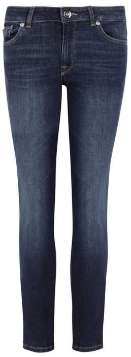 DL1961 Angel Indigo Cropped Jeans