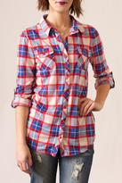 Passport Plaid Button Down