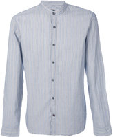 John Varvatos mandarin collar shirt