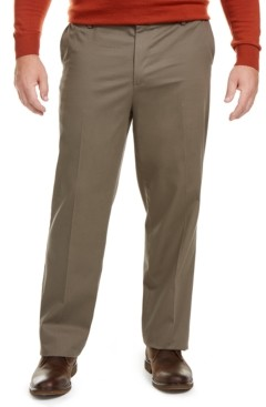 Dockers Big & Tall Signature Lux Cotton Classic Fit Creased Stretch Khaki Pants