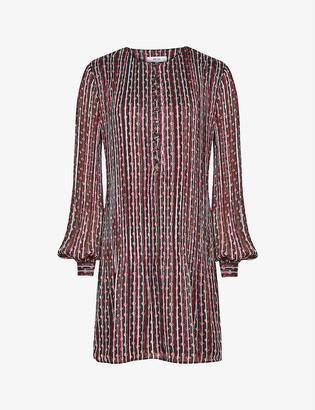 Reiss Celia woven midi dress