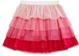 Kate Spade Girls' Tiered Glitter Tutu Skirt - Sizes 2-6