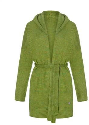 You By Tokarska Cardigan Wiat A Hood Green