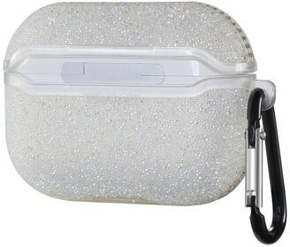 Posh Tech Glitter Bling Case for Airpods Pro - White