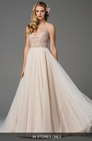 Women's Watters Ora Strapless Tulle Gown
