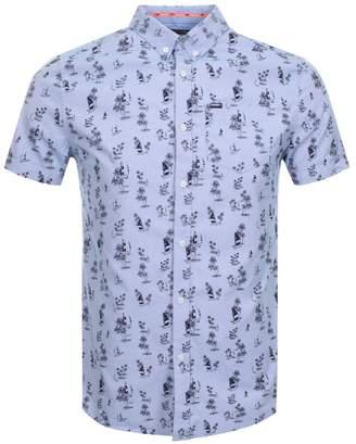 Superdry Short Sleeved Shoreditch Shirt Navy