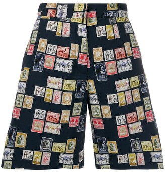 Victoria Victoria Beckham Tailored Postage Stamp Shorts