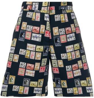 Victoria Victoria Beckham tailored postage stamp shorts