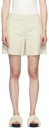 Joseph Beige Canvas Tallin Shorts