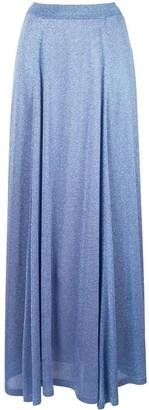 Missoni lamé full skirt